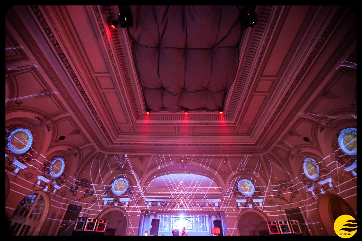Party Sunrise 2015 @ Casino Sinaia Setup Lumini 3