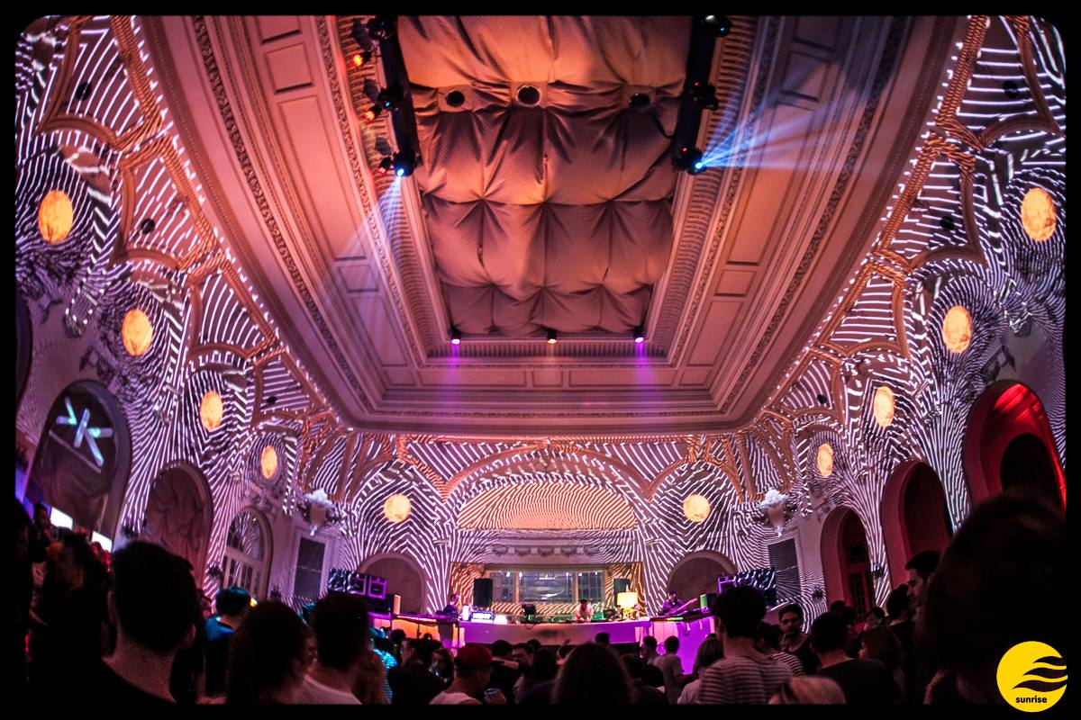 Party Sunrise 2015 @ Casino Sinaia Setup Lumini 8