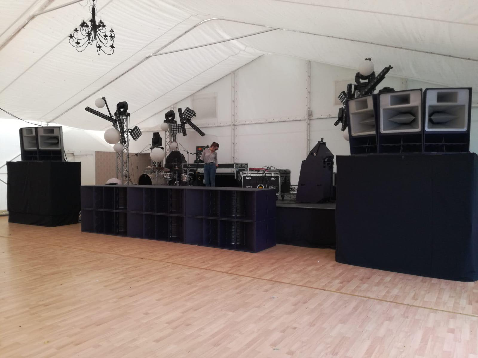 Summer Well After Party Tent 2018@ Domeniul Stirbei Setup Sunet Scena Sunet Lumini Concert Live Dj  13 Music Gear (14)