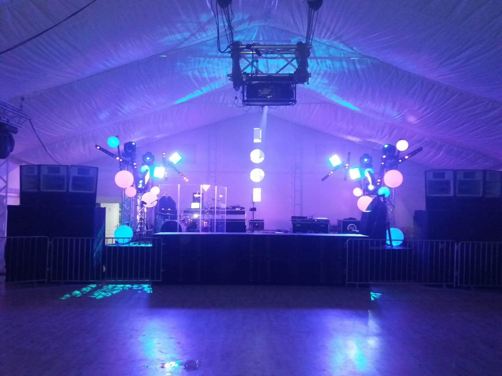 Summer Well After Party Tent 2018@ Domeniul Stirbei Setup Sunet Scena Sunet Lumini Concert Live Dj  13 Music Gear (17)