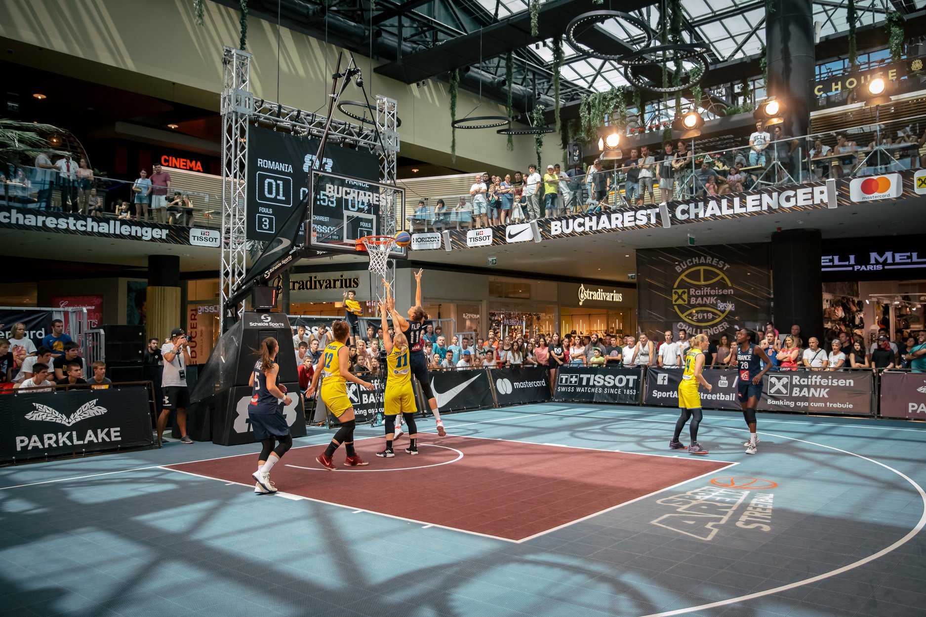 Sport Arena 3x3 Raiffeisen Bank Bucharest Challenger August 2019 @ Park Lake Setup Sunet Lumini Music Gear 11